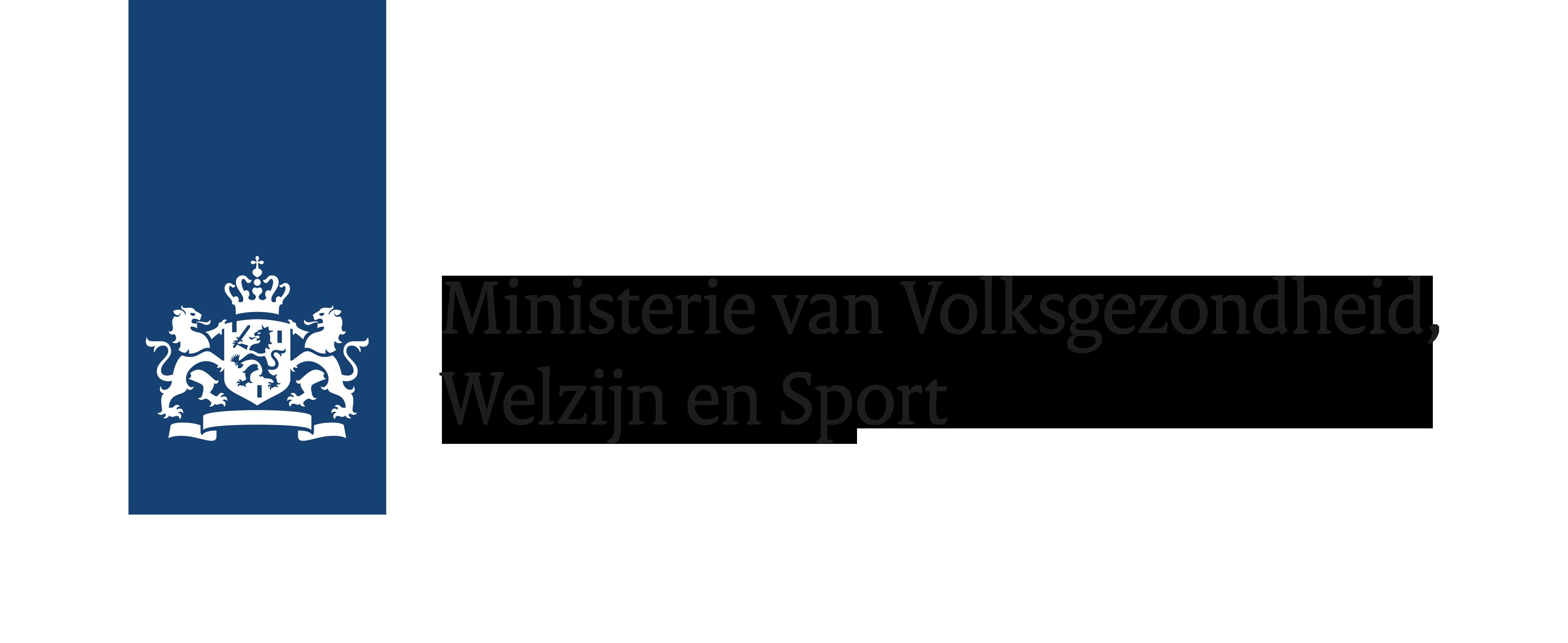 Logo Minsterie van Volksgezondheid, Welzijn en Sport